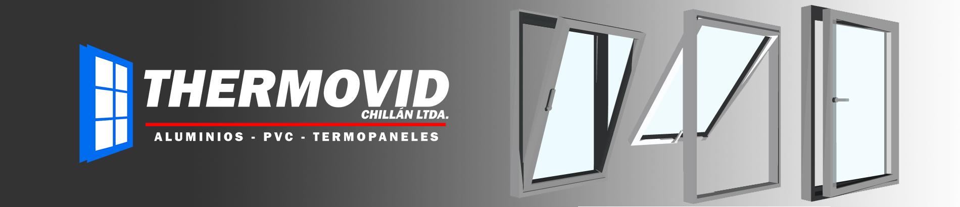 VENTANAS DE PVC CON TERMOPANEL THERMOVID CHILLAN LTDA. ofrece ventanas de PVC para todos sus proyectos. Además nuestras ventanas de PVC cuentan con distintas soluciones en termopaneles y perfiles de PVC, permitiéndonos entregas un producto de alta calidad.